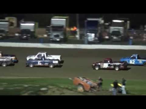 CJ Mini Haulers feature 34 Raceway 9/27/14