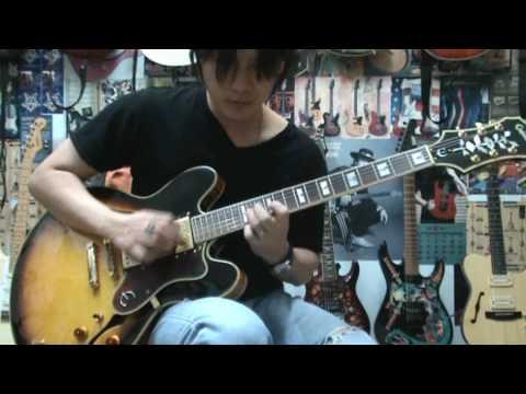 Epiphone Sheraton II Guitar Drive Sound