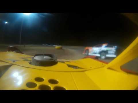 Salina KS  Speedway In car Video's Williams Frye Segrave Heats