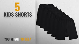 Top 10 Kids Shorts [2018]: BODYCARE Pure Cotton Plain Black Cycling Shorts for Girls & Kids