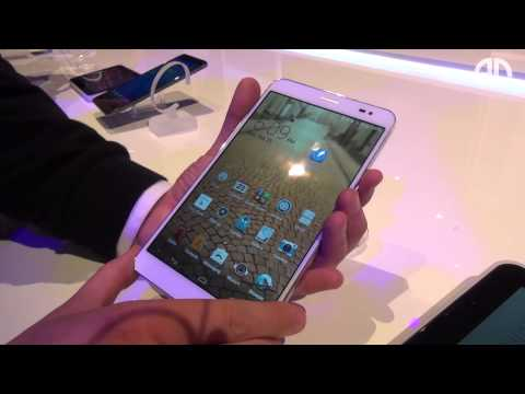 Huawei MediaPad X1 7.0 - Hands-On - MWC 2014 - androidnext.de