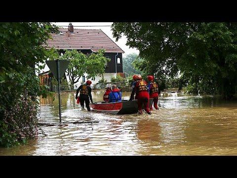 Severe flooding hits parts of Bavaria, Germany