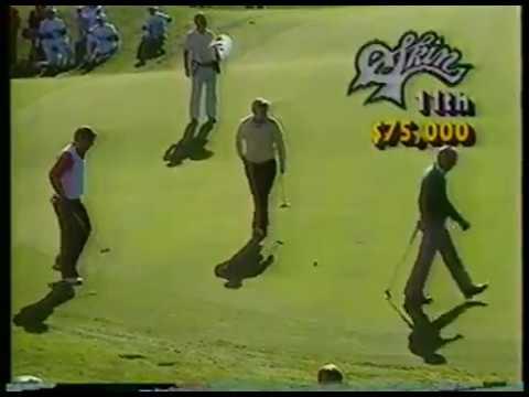 Golf - PGA - 1986 Skins Game - Day 2 - Jack Nichlaus & Fuzzy Zoeller & Lee Trevino & Arnold Palmer