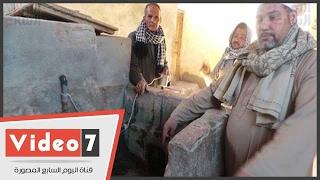 مياه حولت صحراء قنا لمدينة.. الأهالى: بئر الشيخ خلف الله بديل زمزم بأبو تشت ونشرب منه بنية الشفاء