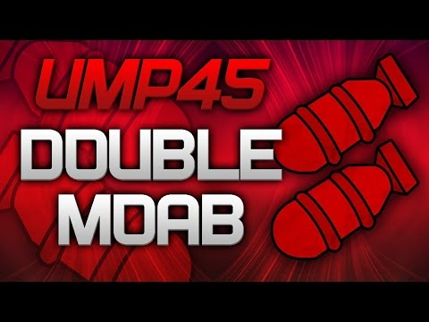 UMP45 Double Moab on Seatown - CoD: Mw3