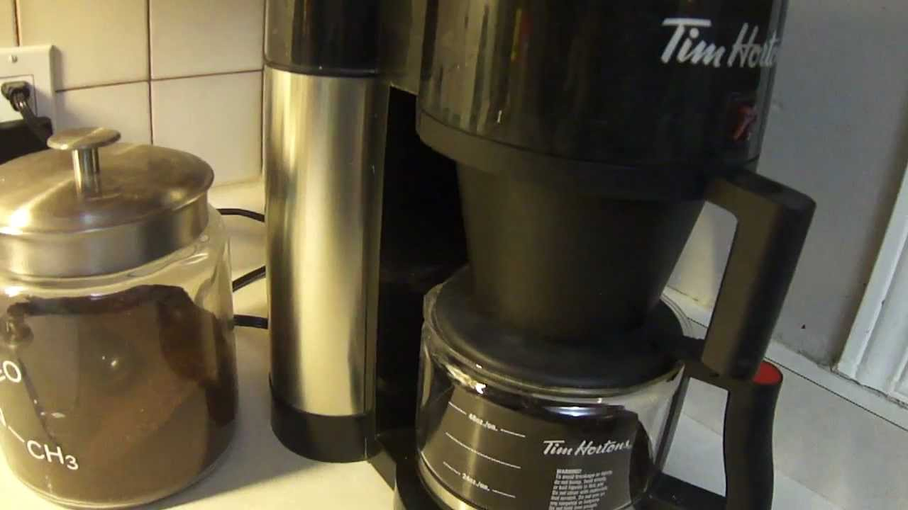 Coffee Maker Just Stopped Working : Bunn Tim Burton Coffee Maker Review - YouTube