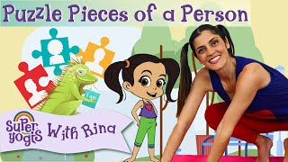 Super Yogis Kids Lesson #6: Puzzle Pieces of a Person