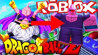 MAJIN BUU IN ROBLOX- Dragon Ball Z Final Stand Roblox