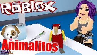 WE CURE ALL SICK ANIMALS VET SIMULATOR ROBLOX ? CRYSTALSIMS
