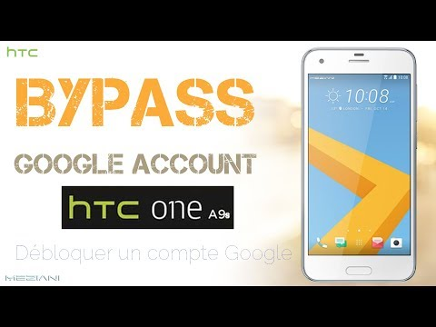 Bypass Google Account HTC ONE A9S Remove FRP
