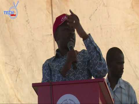 Chamisa Charges  During Kadoma Rally thumbnail