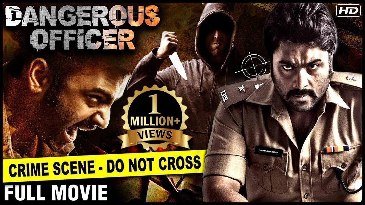 Download Dangerous Officer Full Hindi Movie | Nara Rohit | Hindi Dubbed Movies | Asura Movie | Action Movies