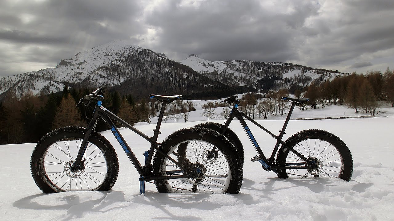 Fatbike snow biking monte bondone full hd [1080p]