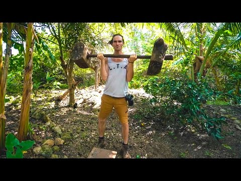PRIMITIVE JUNGLE WORKOUT!