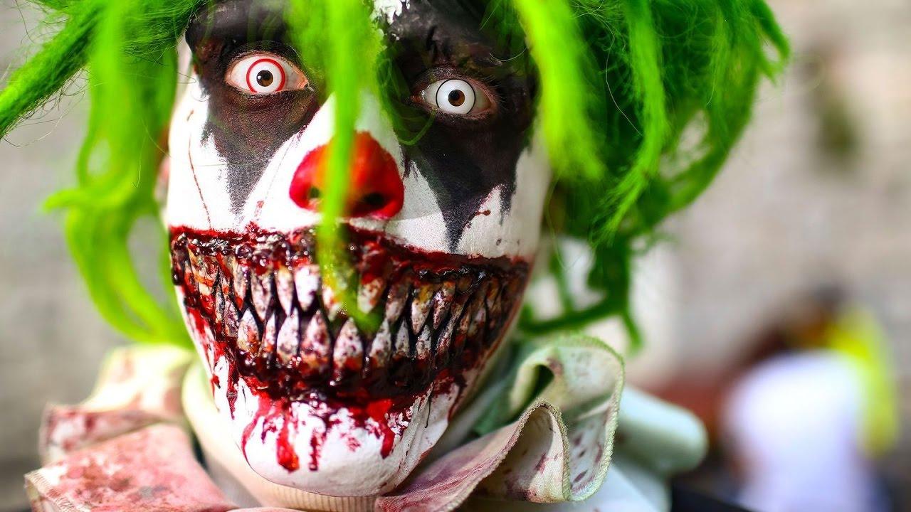 On Fait Peur A Des Enfants Avec Un Masque De Clown Youtube