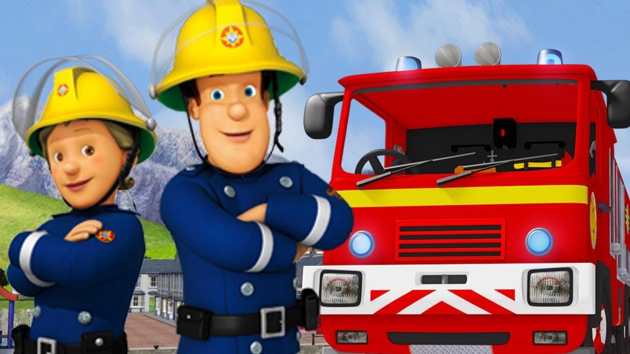 Sam le pompier en francais s curit avec sam 50 minutes compilation dessin anim youtube - Sam le pompier dessin anime en francais ...