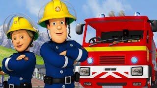 Sam le Pompier en francais | Sécurité avec Sam! - 50 Minutes Compilation | Dessin animé