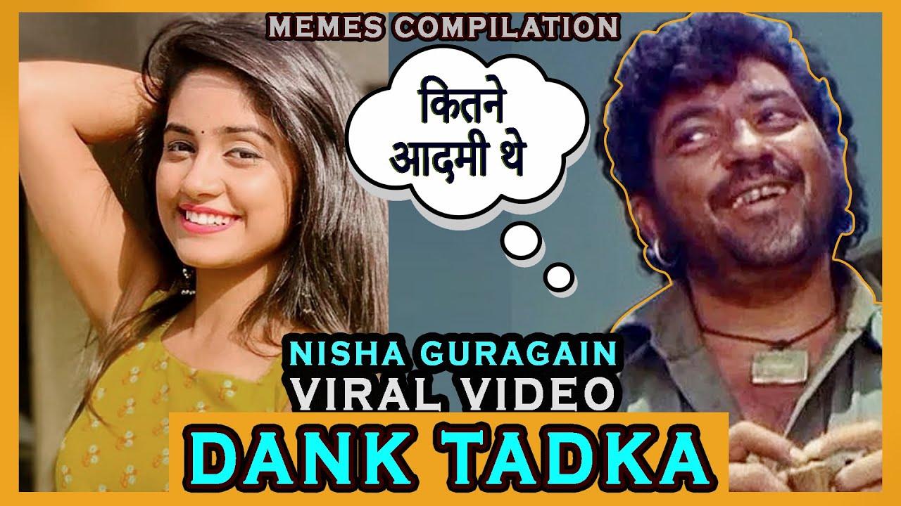 Viral Nisha Guragain Leak Video Memes Tik Tok Star ⭐ #danktadka #nishaguragain #dankindianmemes