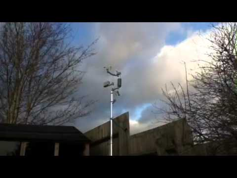 Evesham weather station
