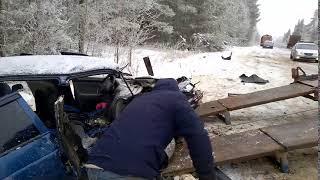 ДТП в Удмуртии на Можгинском тракте 17.01.2018, трое погибших