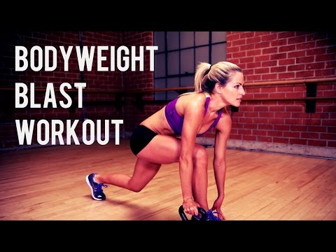 30 Minute Bodyweight Blast Workout