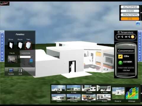 Maison du futur house of the future saint gobain projet rv01 youtube - Maison du futur bruxelles ...