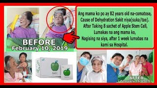 Gambar cover Biogreen Science Apple Stem Cell Testimonials - Comatose 82 Years Old (2019)