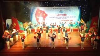 Đồng diễn Semaphore tại Lễ kỷ niệm 60 năm ngày truyền thống Hội LTHN VN-Thành Phố Đà Nẵng-CLB NBK
