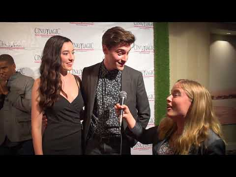 Ryan McCartan and Samantha Fekete  at Cinemagic Gala