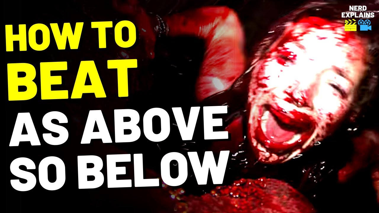 """Download How to Beat the HELL CAVES in """"AS ABOVE, SO BELOW"""" (2014)"""