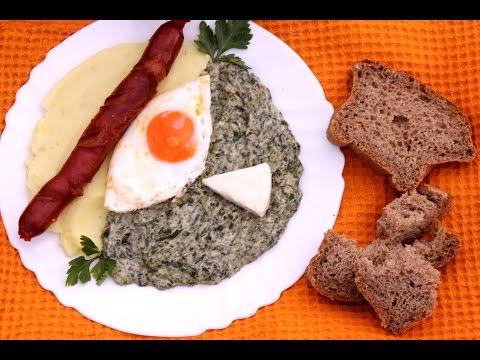 Kako spremiti spanać - Šerpicina škola kuvanja - Recept za spanać