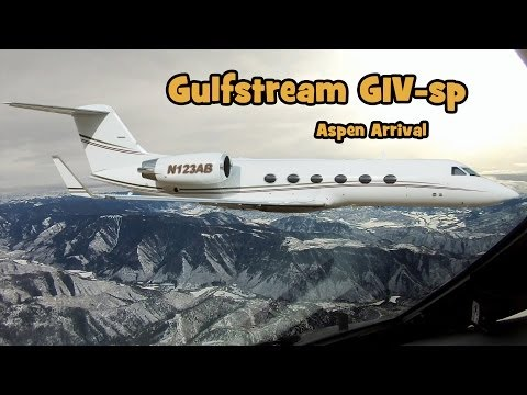 Flying a Gulfstream - Aspen Airport Arrival Operations