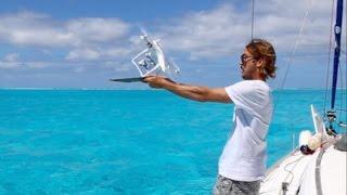 Drone Fail on La Vagabonde!! (Sailing La Vagabonde) Ep. 65