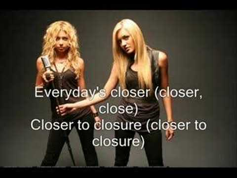 Aly & AJ - Closure [with lyrics]