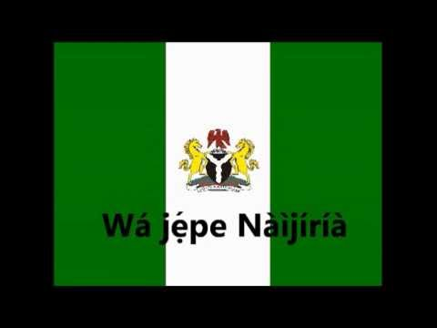 Nigerian National Anthem Yorùbá