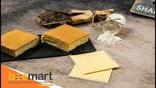 Cách làm bánh bông lan Đài Loan Castella