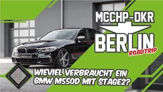 Wieviel Kraftstoff verbraucht ein 515 PS starker BMW M550d G30? | mcchip-dkr