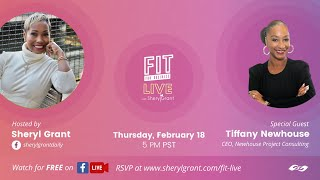 "FIT LIVE! ""Taking Control of Your Small Business with a Big Business Mindset"" with Tiffany Newhouse"