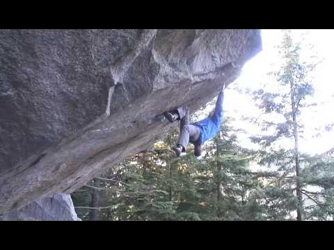 [An interesting solo in Squamish]