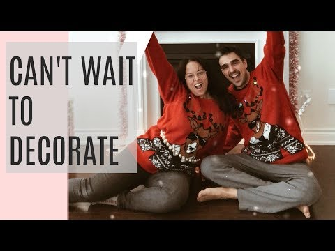 Can't Wait to Decorate | Happy Holidays