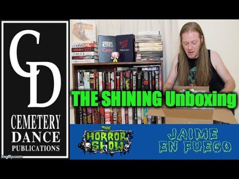 THE SHINING Cemetery Dance UNBOXING & DOCTOR SLEEP Review - Hail To Stephen King EP22