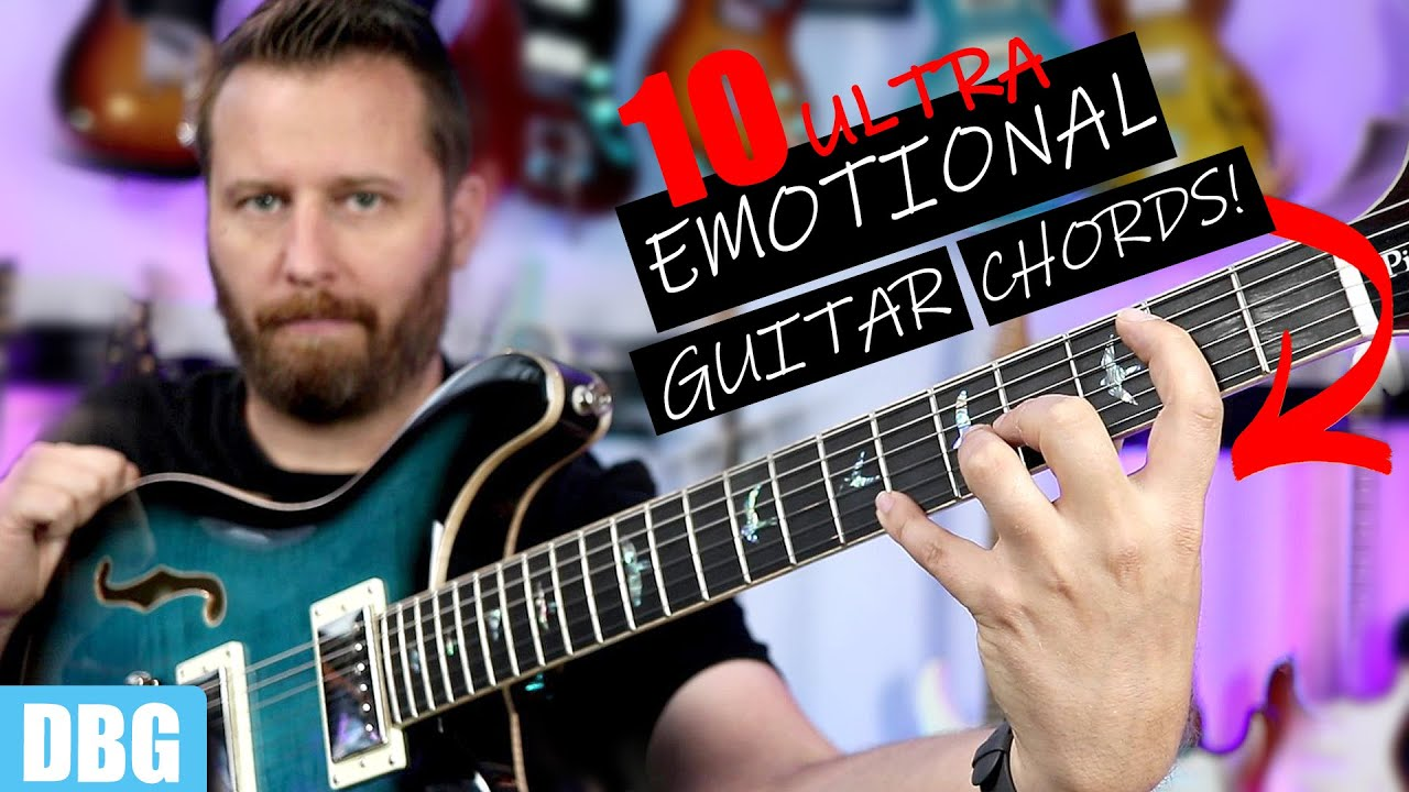 The SADDEST Chords on Guitar - Learn These Emotional Chords!