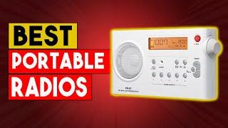 BEST PORTABLE RADIO - Top 6 Best Portable Radios In 2021