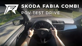 2017 Skoda Fabia Combi 1.0 TSI 70kW - POV Test Drive (no talking, pure driving)