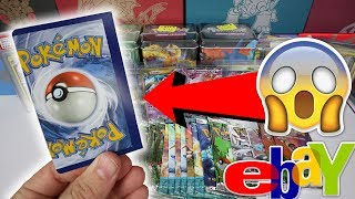MASSIVE POKEMON CARD HAUL - ERROR MISCUT POKEMON CARD!?