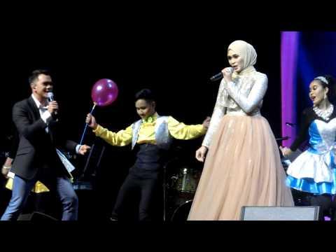 Just Us (HD) Siti Nordiana & Alif Satar - Paling Comel