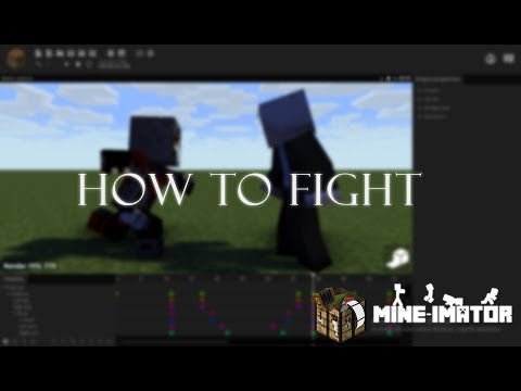 Mine Imator Fighting Tutorial (part 2) - With Explanation!!!