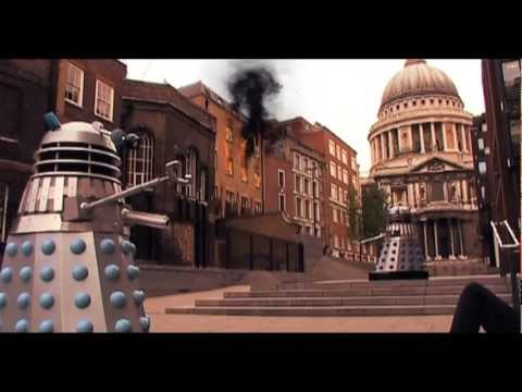 Doctor Who Dalek Invasion of Earth 2005 London Big Ben Exterminate