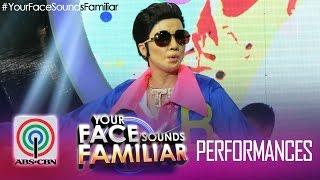 Your Face Sounds Familiar: Maxene Magalona as Vhong Navarro -