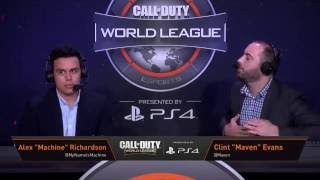 7/14 Stage Two Playoffs OpTic Gaming vs Luminosity Gaming - Call of Duty® World League
